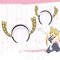 1PC Headband Miss Kobayashi's Dragon Maid Tooru Tohru Hair Band Cosplay Props