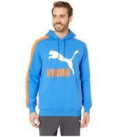 PUMA Strong Blue Classics T7 Logo Hoodie TR