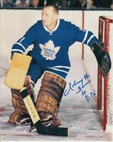 Johnny Bower Toronto Maple Leafs Autographed Signed 8x10 Photo