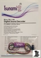 Soundtraxx ~ New 2020 ~ Tsunami 2 ~ TSU-1100 GE Diesel ~ Sound Decoder ~ 885002