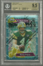 1995 Finest #56 Brett Favre HOF Green Bay Packers BGS 9.5 X 3 GEM MINT Very Rare