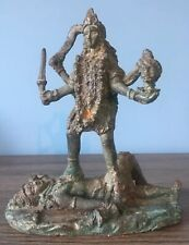 19th Century Bronze Of Kali काली Divine Mother, Mother of the Universe, Feminism