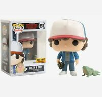 Funko pop stranger things dustin y dart hot topic figura coleccion figure figura
