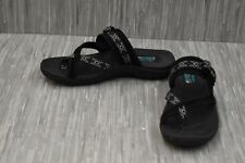 **Skechers Reggae Trailway 40798 Sandals - Women's Size 10, Black