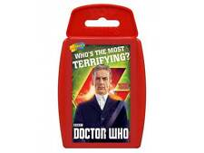 NEW TOP TRUMPS Dr Who - Who's The Most Terrifying - 12th Doctor Clara