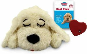 SmartPetLove Snuggle Puppy Heartbeat Stuffed Toy - Pet Anxiety Relief and Cal...