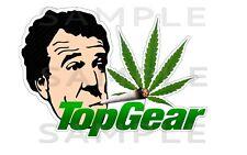 Leaf Top Gear Sticker Cannabis herbal Weed  Window Car Truck Vinyl Decal Sticker