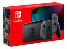 Nintendo Switch V2 Gray Joy‑Con 2019 Model w/ Extended Battery HAC-001(-01) XKW