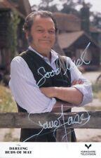Actor David Jason signed Darling Buds of May TV comedy drama series photo