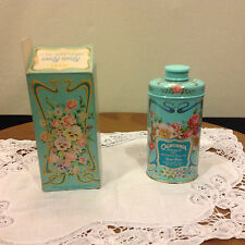 Vtg Nos Avon Keepsake tin California Perfume Co 1977 Perfumed Taic Roses Roses