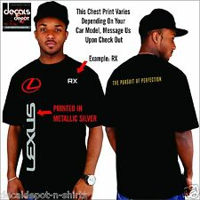 Custom Shirt for LEXUS Car Owners, RX350 ES350 ES330 LX570 GS460 and more
