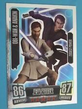 Force Attax Clone Wars Serie 2 (2011), Obi-Wan & Anakin (213), Zusatz-Power