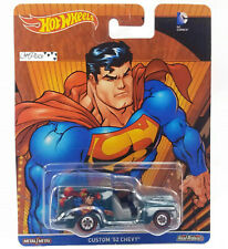 Hot Wheels Dc Comics Superman Custom 52 Chevy Real Riders