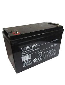 Ultramax 12V 100AH DeepCycle AGM/GEL Battery Car Audio System CCTV Back Up