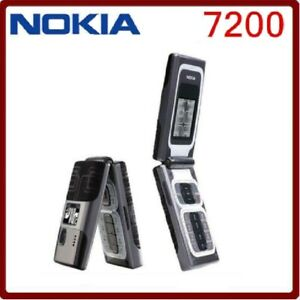 Nokia 7200 (check your network band before order) 2G GSM900/1800 Flip Cell Phone
