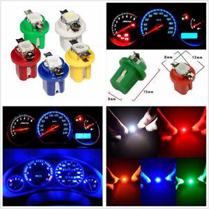 50X T5 5050 LED B8.5D Car Indicator Gauge Dashboard Dash/Side/Parking Light Bulb