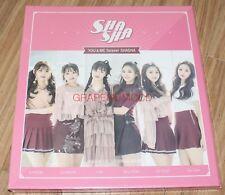 SHA SHA YOU&ME forever SHASHA K-POP CD + FOLDED POSTER SEALED