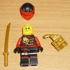 Lego Ninjago Kai mit Bewaffnung (perl gold)