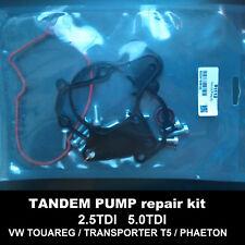 VW Transporter VW Touareg 2.5TDI fuel vacuum tandem pump seals rebuilt kit 91112