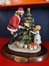 Flambro Emmett Kelly Jr. Spirit Of Christmas Iii Limited Edition 1204 Of 3500