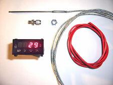 RSR Abgastemperatur Anzeige SET + ALARM 3m EGT Gauge 16V VR6 Turbo 1,8T C20LET R