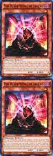 2 X The Black Stone of Legend 1st  YUGIOH LDK2-ENJ05 Effect Monster