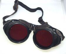 Steampunkstop 3D Lente COGS Gafas Con Rojo