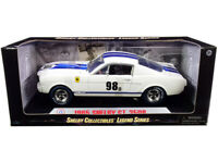 1965 FORD MUSTANG SHELBY GT350R #98B 1/18 DIECAST CAR SHELBY COLLECTIBLES SC170