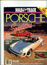 PORSCHE SPEEDSTERS CAR BOOK