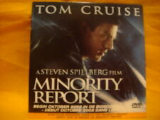 cardsleeve DVD CD MINORITY REPORT Behind The Scenes 18 min