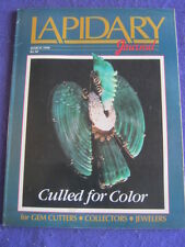 LAPIDARY JOURNAL - CULLED FOR COLOUR - March 1990 v 43 # 12