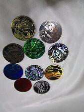 Pokemon TCG Lot of 10 RANDOM Different mixed coins. Brand new unused.