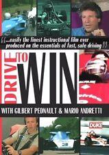 DRIVE TO WIN DVD. GILBERT PEDNAULT, MARIO ANDRETTI. RUSSELL. 122 Min. DUKE 3113N