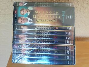MURDOCH MYSTERIES : COMPLETE SERIES- 1-13, DVD SET, FREE SHIPPING, NEW.
