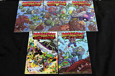 IDW TMNT BEBOB & ROCKSTEADY: DESTROY EVERYTHING #1-5 5pc SET (ALL 1st PRINT)