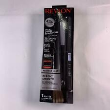 Revlon 3X Ceramic Digital Flat Iron, 1 Inch