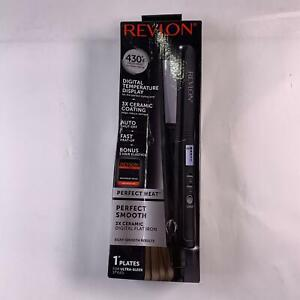 Revlon 3X Ceramic Digital Flat Iron, 1 Inch