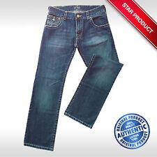 Indigo, Dark wash Mid ARMANI 32L Jeans for Men