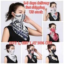 US!Unisex Breathable Triangle Bandana Half Face Mask Neck Cover Scarf Men Women