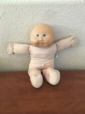 Vintage Cabbage Patch Boy Doll Nude Bald Green Eyes