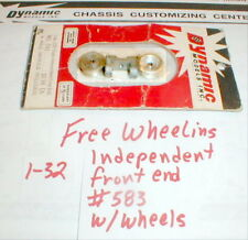 1 Kit Free Wheeling Front End with Wheels by Dynamic1960 Vintage #582 1/32 scale