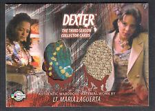 DEXTER SEASON 3 (Breygent) COSTUME CARD #D3 - C12 LT. MARIA LAGUERTA TWO TOPS