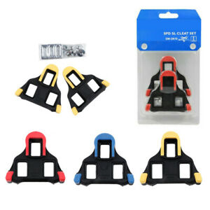 For Shimano Road Bike SM-SH10/11/12 Clipless Road + 0/2/6° Float Cleats Pedal
