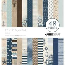 Kaisercraft Nautical Paper Pad 12x12 48 Pages - Nini's Things