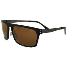 Serengeti Sunglasses Ferrara 7894 Satin Black Polarized Phd Drivers Brown