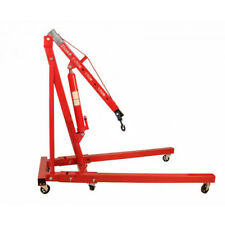 2 Ton 2000kg Folding Adjustable Engine Crane Hoist Garage Lifting Hydraulic Used