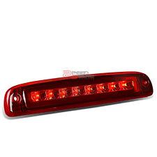 FOR 97-10 DAKOTA PICKUP RED HOUSING REAR 3RD/THIRD BRAKE/STOP RED LED LIGHT