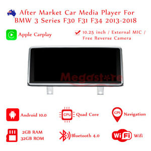"10.25"" Android 10.0 Apple CarPlay Head Unit car gps For BMW 3 Series F30 F31 F34"