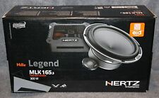"HERTZ MILLE LEGEND 165.3 6.5"" 2-WAY COMPONENT -  NO RESERVE - FREE UPS SHIPPING"