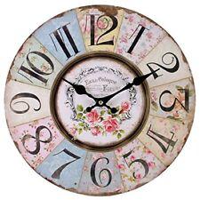 Horloges murales vintage/rétro multicolore pour le Garage